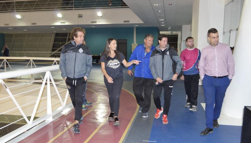 El director deportivo y el capacitador internacional del club Valladolid de España dieron cátedra en el Campus de la ULP
