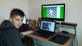 Ajedrez: Facundo Lavandeira terminó 7° en un torneo internacional on line