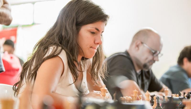 Guadalupe Besso se posicionó como una de las 5 mejores ajedrecistas del país