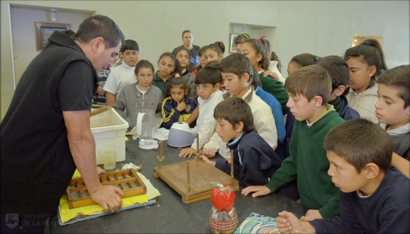 La ULP regresa a las aulas con los talleres de Ciencia y Reciclados
