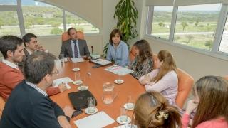 El rector Sosa junto a secretarios de la ULP definieron la agenda semanal