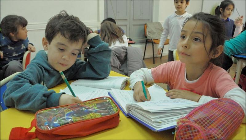 En San Luis, los niños ingresan al mundo de los idiomas a través de la ULP