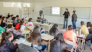 El psicólogo en alto rendimiento Marcelo Roffé  brindó una clase magistral en la ULP