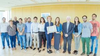 El Senado de la Nación Argentina reconoció a Alicia Bañuelos con la Mención de Honor al Valor Científico