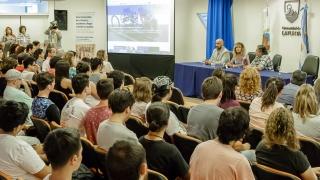 La ULP le dio la bienvenida a los alumnos ingresantes 2018