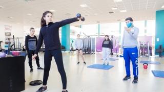 Jóvenes tiradores puntanos intensifican su preparación en el Campus de la ULP