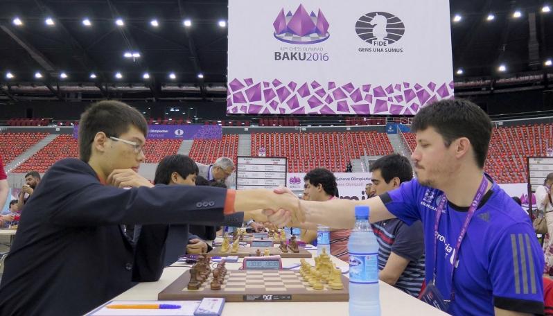 Los ajedrecistas de la ULP están invictos en la 42º Olimpíada de Bakú