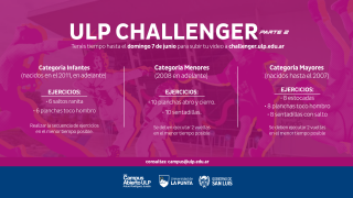 Todo listo para la 2da fecha de ULP Challenger
