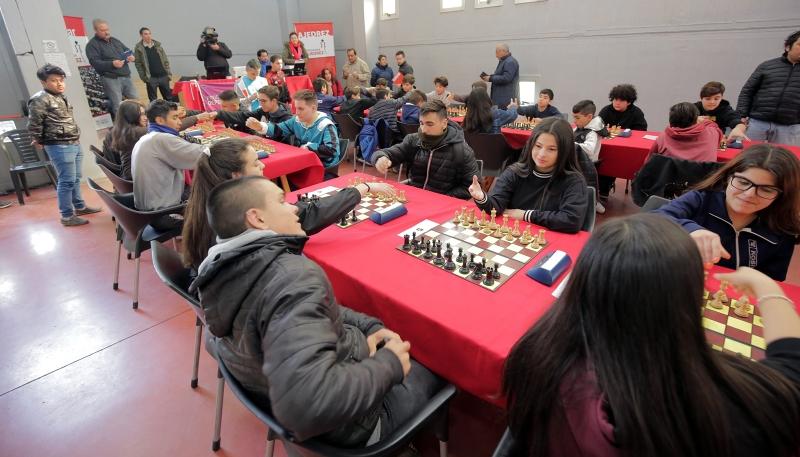El Trinquete es escenario de la final provincial de ajedrez