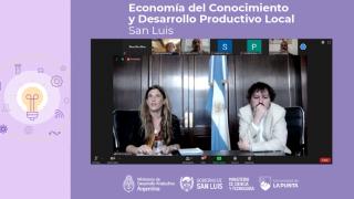 """Se llevó a cabo el encuentro """"Economía del Conocimiento, Industria y Desarrollo Productivo Local"""""""