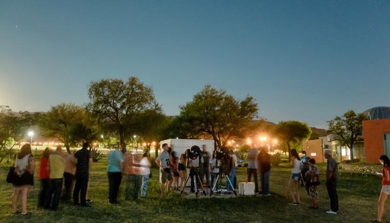El Parque Astronómico La Punta abre la temporada  2018 con una propuesta para toda la familia