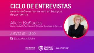 Bañuelos participó en el ciclo de la Casa de San Luis en Buenos Aires