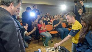 Boca Juniors vs. Ajedrez ULP: comenzó el match con un gran despliegue ajedrecístico