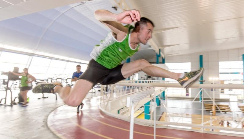 El equipo de atletismo de Estudiantes fue evaluado en el Campus Abierto ULP
