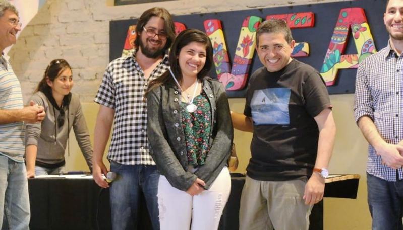 Pablo Acosta y Guadalupe Besso brillaron en General Alvear