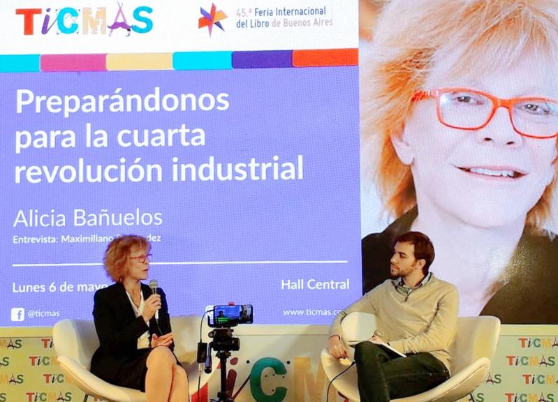 San Luis 3.0 presente en el stand de TICMAS