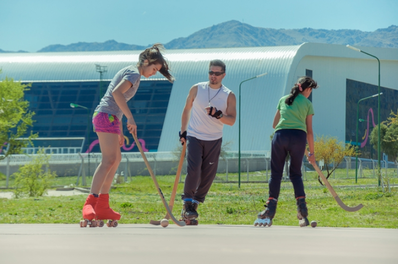 El Campus Abierto ULP marcó el nacimiento del hockey sobre patines en la provincia