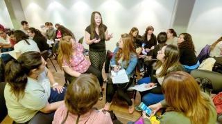Estudiantes de la ULP Virtual asistieron a un encuentro para hacer un balance del año académico