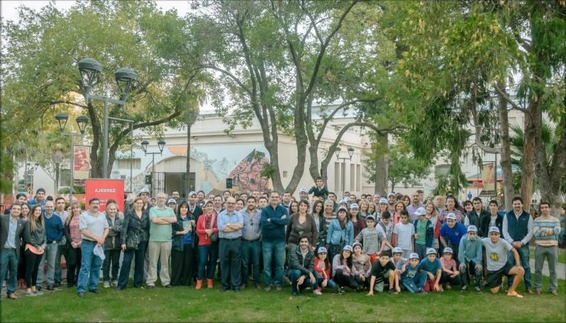 La familia del ajedrez se unió para apoyar la megaobra de La Pedrera
