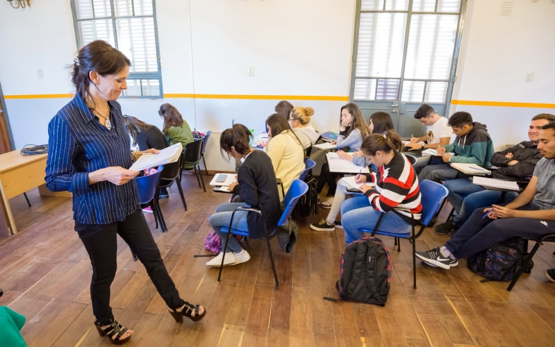 Inician las clases en el Instituto de idiomas de la ULP