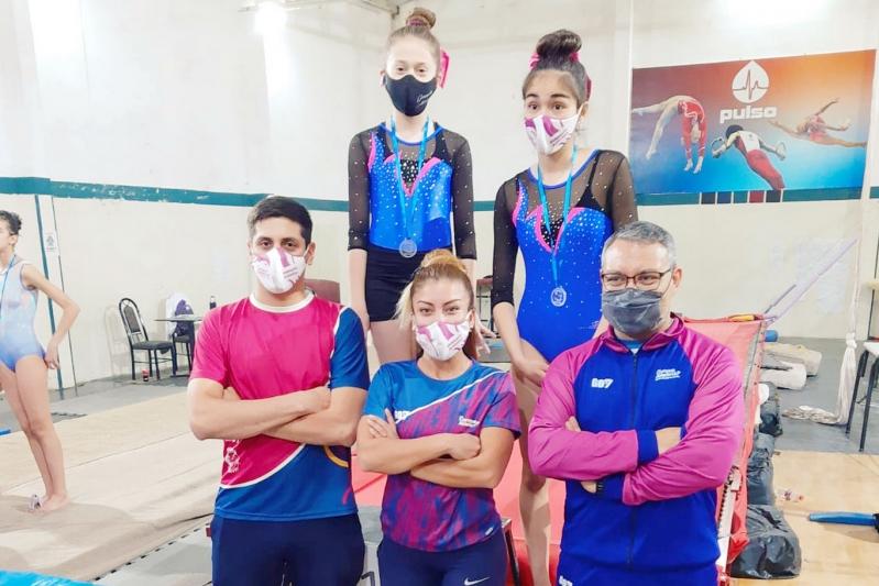 Las gimnastas del Campus disfrutaron del inicio del provincial