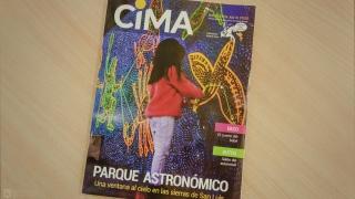 El Parque Astronómico La Punta es tapa de la Revista CIMA