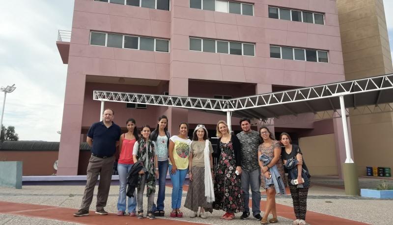 La reconocida escritora María Kodama visitó la ULP
