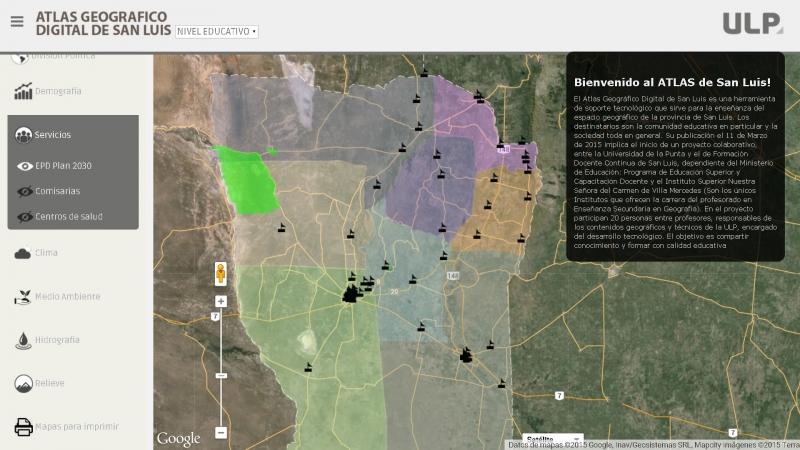 La cartografía digital de San Luis se optimiza con el aporte de las instituciones puntanas