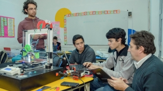 Los talleres de Robótica de Alta Competencia  se reanudaron en toda la provincia