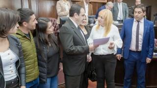 El ajedrecista ciego de la ULP Daniel Morelli fue reconocido por la Cámara de Diputados de San Luis