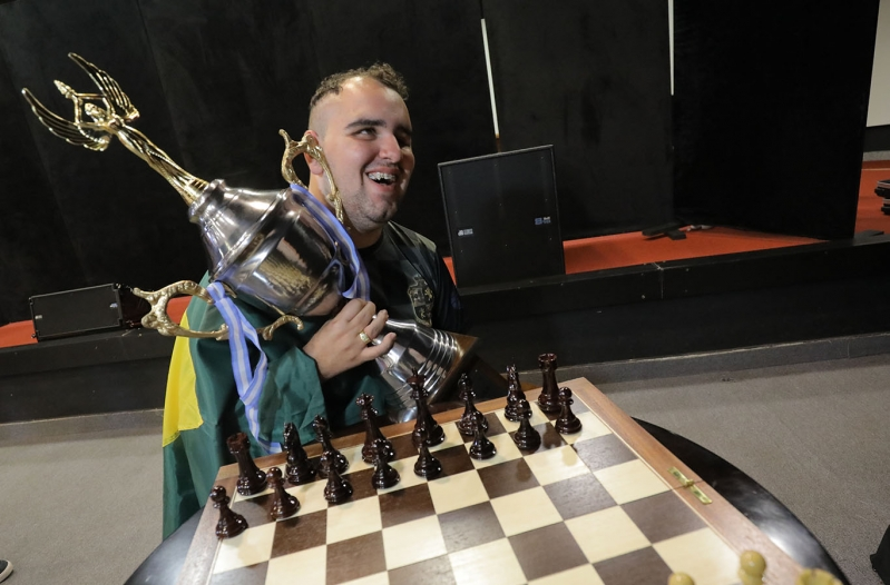 Premiaron a los mejores ajedrecistas ciegos y disminuidos visuales del 7º Panamericano de Ajedrez