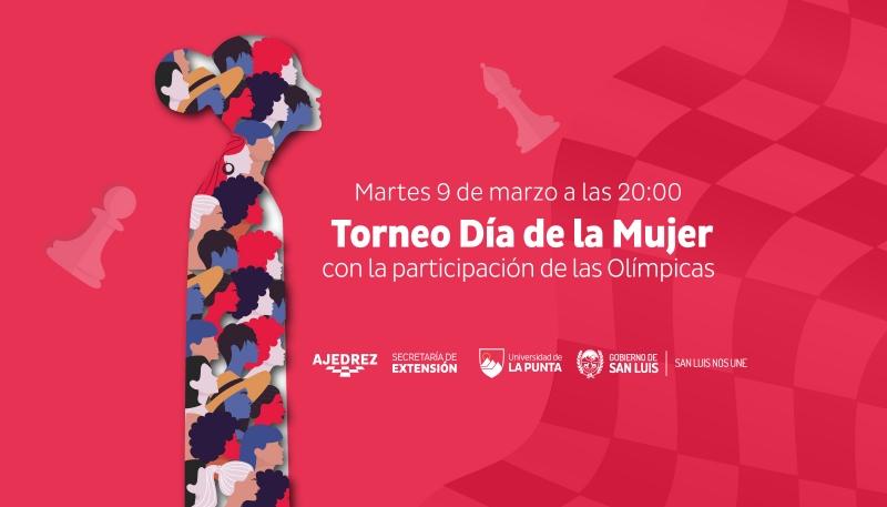 Se viene el Torneo Olímpico del Día Internacional de la Mujer