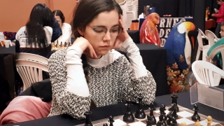 Ayelén Martínez, subcampeona argentina de Ajedrez