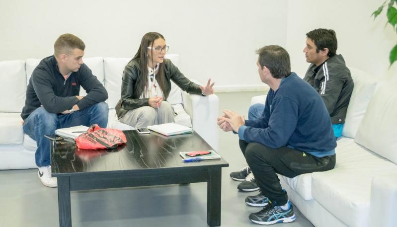 La Federación Provincial de Judo coordinó acciones en conjunto con el Campus