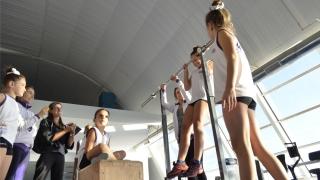 Las gimnastas de la escuela ENEAS tuvieron su segundo ciclo de evaluaciones en el Campus