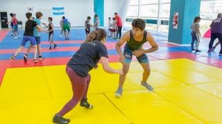 Deportistas puntanos buscarán formar parte de la Selección Argentina de Lucha