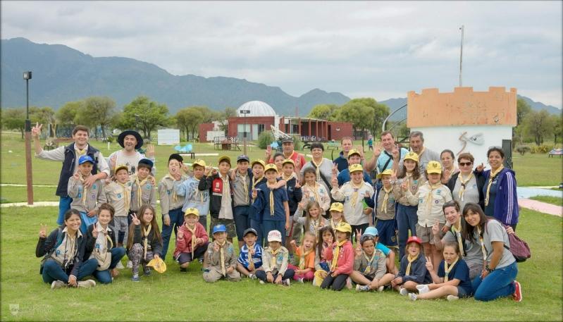 Pequeños scouts de Bahía Blanca disfrutaron del turismo astronómico
