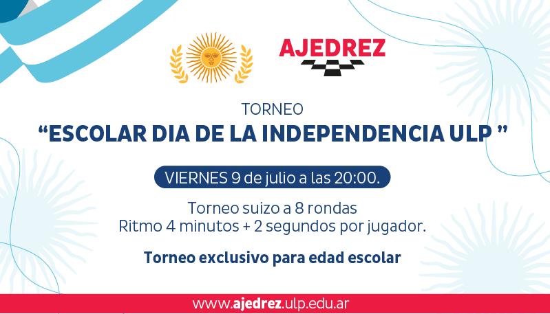 """Este viernes se disputará el torneo """"Escolar Día de la Independencia"""""""