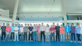 Coordinan acciones para que las federaciones deportivas entrenen en el Campus Abierto ULP