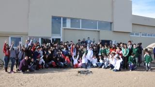 La comunidad de las EPD vivió una jornada patriótica en el Pueblo Ranquel