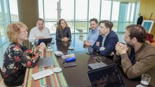 La rectora Bañuelos se reunió con el rector de la UMET, para dialogar sobre las políticas que lleva adelante la ULP
