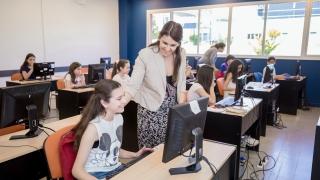 Más de 100 alumnos rindieron el examen de Mega Programadores en la ULP