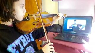 Alumnos de Escuela de Música ULP arrancaron con las clases virtuales