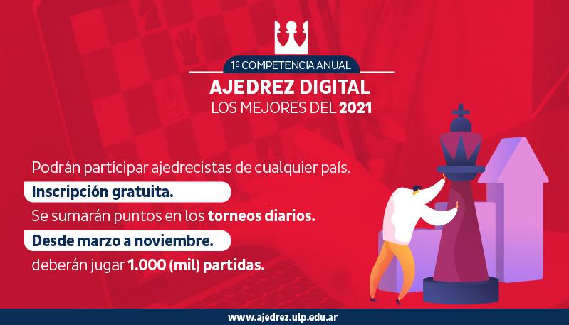 """El ajedrez digital comienza la partida con """"Los Mejores del 2021"""""""