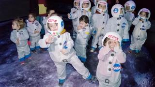 """""""Pequeños astronautas"""" visitaron el PALP"""