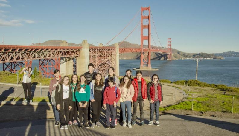 Los Mega Programadores cerraron su primera etapa del viaje con un City Tour por San Francisco