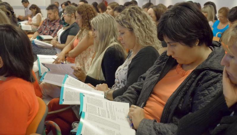 Los docentes del PIE ya se capacitan en el campus de la ULP
