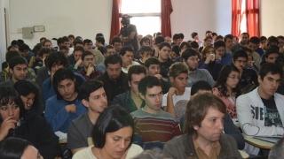 A sala llena: los participantes de Proyecto big Bang Tecno  tuvieron su primer workshop