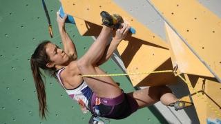 Valentina Aguado rompió el récord nacional escalando en velocidad