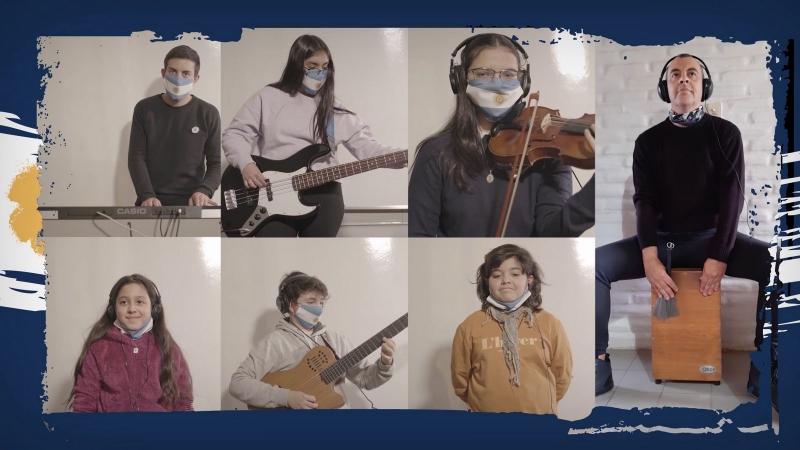 Los alumnos de la Escuela de Música de la ULP festejaron el Día de la Independencia